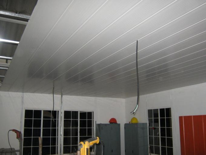 Marble Pattern Garage PVC Ceiling Panels with Extruding Hot Stamping