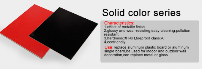 Indoor Solid Color PVC Wall Boards Anti - Freezing 1 0IRa