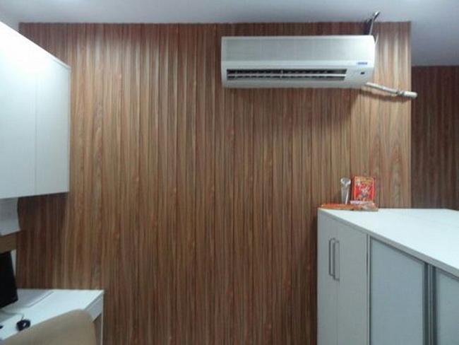 595m length washable pvc wall panel hot stamping matt surface finish bathroom plastic panels