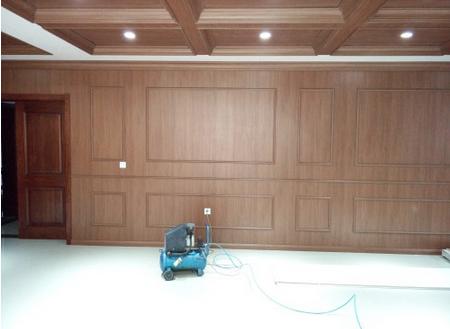 Laminate Flooring Skirting Board Trim Decorative White Laminate