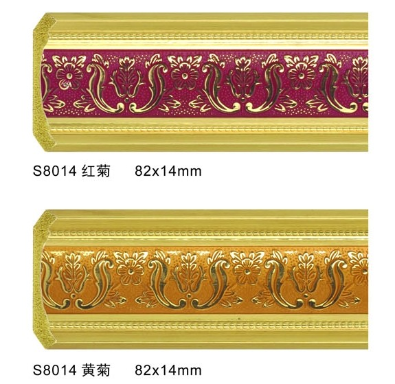 Polystyrene Picture Frame Moulding Durable For Interior Decoration