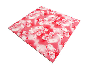 China Commerical Artistic PVC Ceiling Boards Transfer Printing Impact Resistant factory