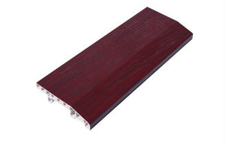 China Individual Offices PVC Skirting Board 8cm Height Wall Bottom Decoration factory