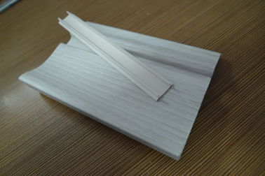 China Prefab Houses Kitchen PVC Skirting Board For Walls Maintenance Free supplier