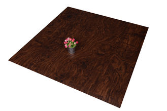 Eco - Friendly Commercial Faux Wood Floor Tile Waterproof For Office
