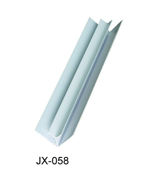 Anti - Oxidation PVC Extrusion Profiles Hot Stamping For Internal Corner supplier