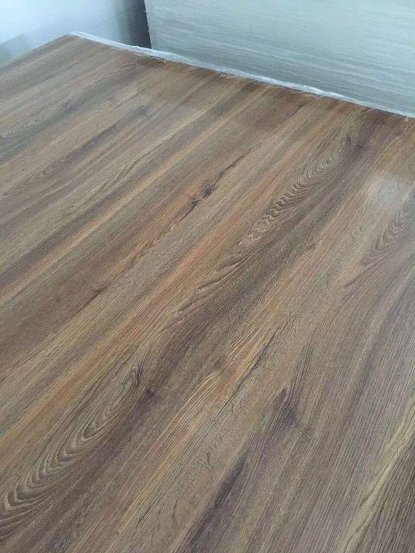 Prefabricated Wood Effect Laminate Sheets Texture Color Pvc Flexible Plastic Sheet