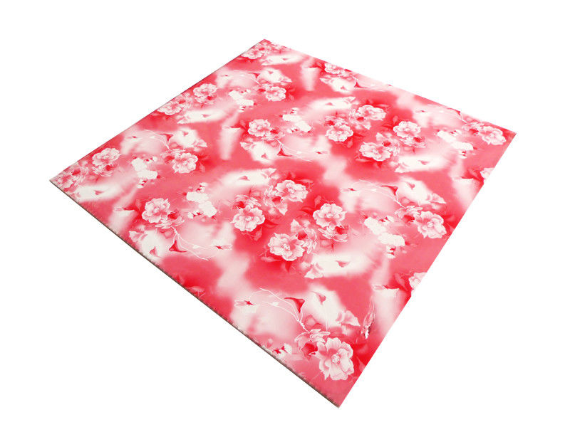 Commerical Artistic PVC Ceiling Boards Transfer Printing Impact Resistant supplier