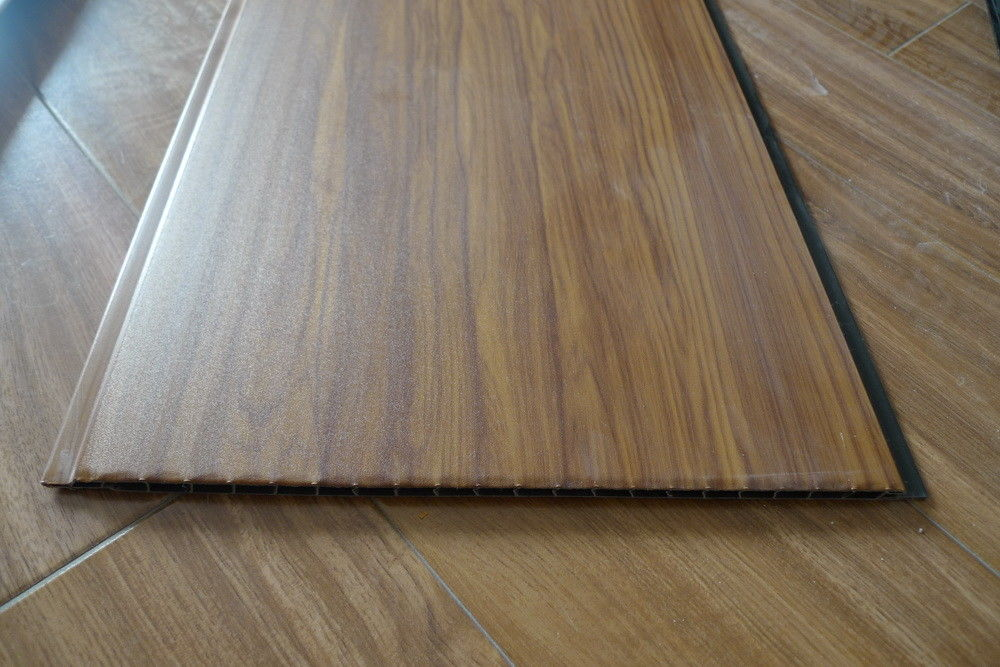 Decorative Wall Panels Interior Wood Effect Laminate Sheets 25cm Width supplier