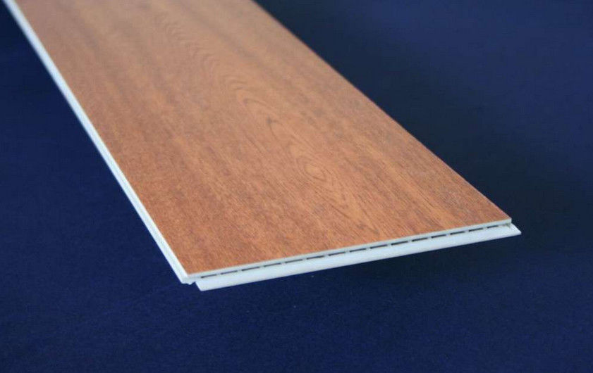 Deep Embossed Surface PVC Floor Tiles Click System With Beveled Edge supplier