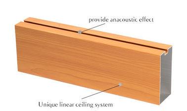 China U Shape Colorful Aluminium Ceiling Panel , Chandelier Stick On Ceiling Tiles distributor