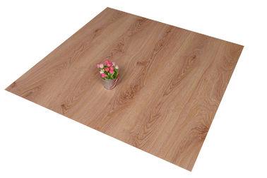 China Click Lock PVC Floor Tiles Living Room Wooden Floor Effect Tiles Anti - Flaming distributor