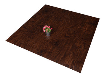 China Eco - Friendly Commercial Faux Wood Floor Tile Waterproof For Office distributor